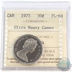 50-cent 1975 ICCS Certified PL-66 Ultra Heavy Cameo