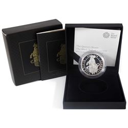 United Kingdom 2018 2-Pound The Queens Beasts - Black Bull of Clarence 1oz Fine Silver Proof (TAX Ex
