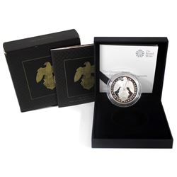 United Kingdom 2019 2-Pound The Queens Beasts - Falcon of the Plantagenets 1oz Fine Silver Proof (TA