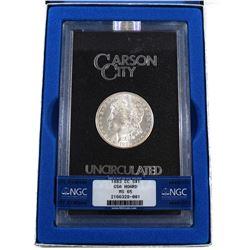 USA 1883CC Silver $1 Morgan GSA Hoard Better Key Carson City Coin Box/Cert NGC Certified MS-65