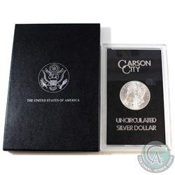 USA 1884CC Silver $1 Morgan GSA Hoard Better Key Carson City Coin Box/Cert Choice BU