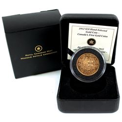 Canada 1912 $10 Premium Hand-Selected - Canada's First Gold Coins issued by the RCM in presentation