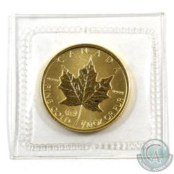 Canada 1997 1/10 oz. Gold Family Privy Mark. Scarce Issue (Tax Exempt)