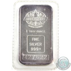 Rare! Engelhard 1oz Fine Silver Bars with Large Font Serial # (TAX Exempt). Similar to other example