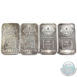 1981 Engelhard 'Maple Leaf' 1oz Silver Bar Collection (TAX Exempt). In this lot you will receive 2x