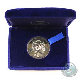 RARE! Johnson Matthey - Canada DRY - 1oz Fine Silver Promotional Medal (TAX Exempt). Comes with orig