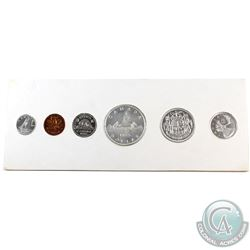 1955 Canada Proof Like Set in Original White Cardboard - Contains Choice Cameo Coins!