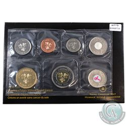 2006 Canada Test Token Variety 'Creating a Future without Breast Cancer' Proof Like Set.