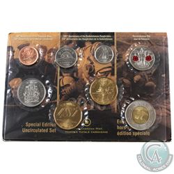 2010 Canada Special Edition 14 Serrations Proof Like Set.