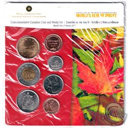 RCM Issue: 2011 Chicago World's Fair of Money Commemorative 6-coin and Medal set.