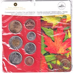 RCM Issue: 2011 RCNA Windsor Numismatic Association Convention 6-coin and Medal set.