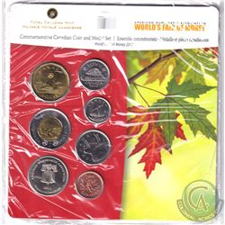 RCM Issue: 2012 American Numismatic Association World's Fair of Money Commemorative 6-coin and Medal