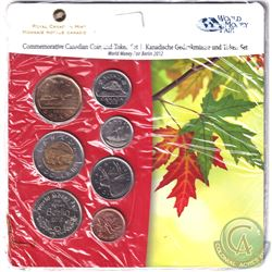 RCM Issue: 2012 Berlin World's Fair of Money Commemorative 6-coin and Medal set.