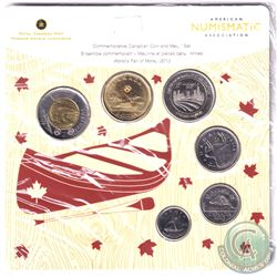 RCM Issue: 2013 Chicago ANA Commemorative World's Fair of Money Coin and Medal Set.