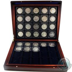 Silver $1 1935 to 1967 Complete set, including all key dates! The 1948 grades at AU-50. On average c