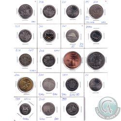 Royal Canadian Mint Token Lot 1997-2013 Souvenir Tokens & Medallions. 19pcs