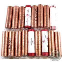 Rolls: 1-cent Original 2000, 2001 No P, 2002 No P, 2003 No P Old Effigy, 2003 No P New Effigy, 2003P
