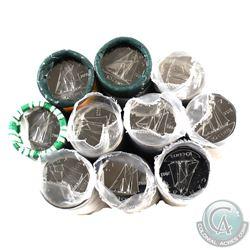 Rolls: 10-cent Original 2003P Old Effigy, 2005, 2006, 2008, 2010, 2013, 2014, 2015, 2016 & 2019. 10