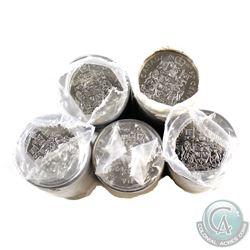 Rolls: 50-cent Original 1994, 1995, 1996, 1997 & 1998. 5 Rolls.