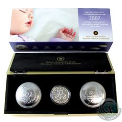 RCM Issue: 2007 Canada Baby Keepsake Tin with ABC Blocks Loon Dollar.
