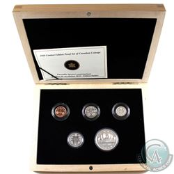 RCM Issue: 2010 Canada's Voyageur Dollar Anniversary Limited Edition 5-coin Proof Set