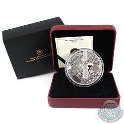 RCM Issue: 2013 Canada $50 The Beaver 5oz Fine Silver Coin (Tax Exempt).