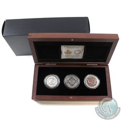 RCM Issue: 2015 Canada $25 Singing Moon Mask Fine Silver 3-coin Set (Tax Exempt).