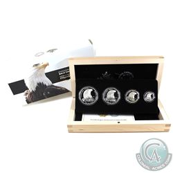 RCM Issue: 2015 Canada Bald Eagle Fractional Fine Silver 4-coin Set (Tax Exempt).