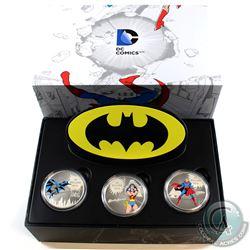 RCM Issue: 2016 Canada $20 DC Comics Originals - Batman, Superman & Wonder Woman 1oz Fine Silver Col