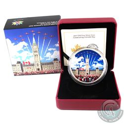 RCM Issue: 2017 $30 Celebrating Canada Day Fine Silver Coin (Tax Exempt).