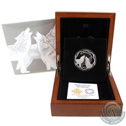 RCM Issue: 2017 Canada $20 Master of the Land - The Timber Wolf Fine Silver Coin (Tax Exempt).