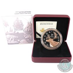 RCM Issue: 2018 Canada 25-cent Big Coin 5oz Rose-Gold Plated Fine Silver Coin (Tax Exempt).