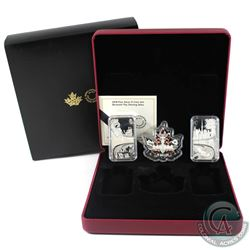 RCM Issue: 2018 Canada Beneath thy Shining Skies Fine Silver 3-Coin Set (Tax Exempt).