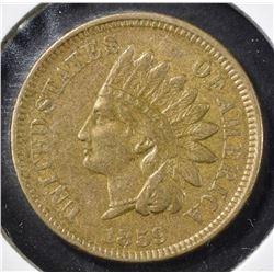 1859 INDIAN CENT, CH AU