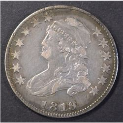 1819 BUST QUARTER XF GREAT ORIGINAL TONE