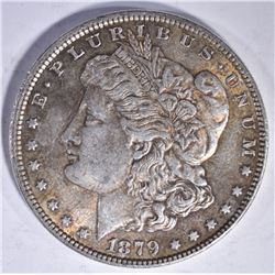 1879 MORGAN DOLLAR CH BU TONED NICE