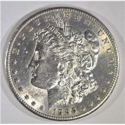 1886-S MORGAN DOLLAR, BU