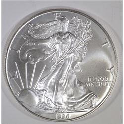 BU-1996 AMERICAN SILVER EAGLE
