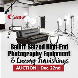 KASTNERS HIGH-END PHOTOGRAPHY EQUIPMENT & LUXURY FURNISH!