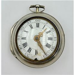 J PAYNE LONDON VERGE 1735-1775 POCKET WATCH