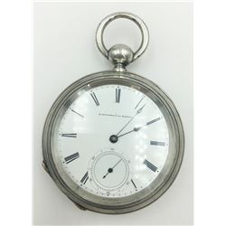 RARE N SERIES OPEN FACE E. HOWARD 18S POCKET WATCH