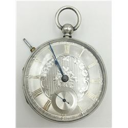 18S SILVER DIAL FUSSEE LONDON ENGLAND 1868