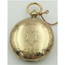INDEPENDENT WATCH CO HUNTING CASE POCKET WATCH