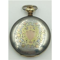 BURLINGTON HUNTING CASE POCKET WATCH