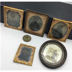 LOT OF DEGUERREOTYPE PHOTOS