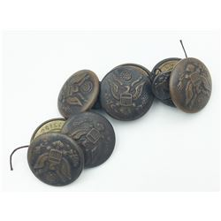 WW1 MILITARY BUTTONS