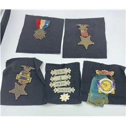 MILITARY SERVICE MEDAL COLLECTION