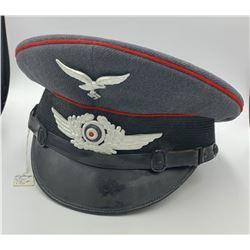 GERMAN MILITARY VISOR CAP, 1939