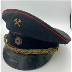VINTAGE ORGINAL GERMAN VISOR CAP
