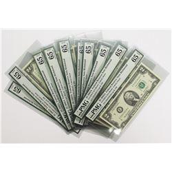 10 PIECES 2003 A $2.00